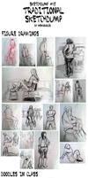 Sketchdump 15: Traditional Sketchdump