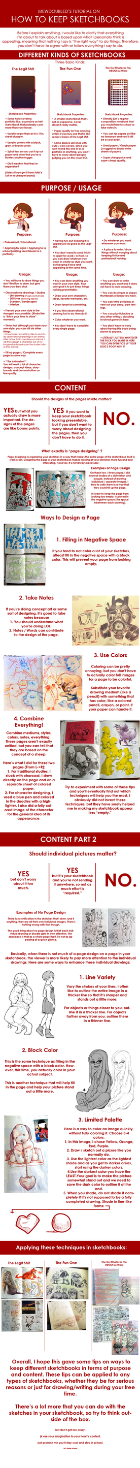 How to Keep Sketchbooks