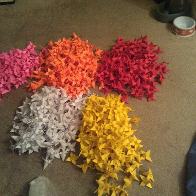 One thousand origami flowers by noarassweets on deviantart one thousand origami flowers by noarassweets mightylinksfo