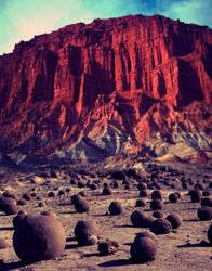 Desert premade background by KalosysArt