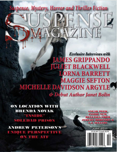 Feature in Suspense Magazine June 2011 by KalosysArt