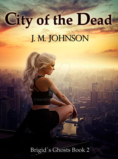 City of the Dead bookcover by KalosysArt