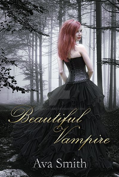 Beautiful vampire bookcover by KalosysArt