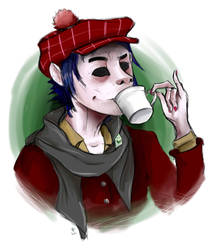 Real Men Drink Peppermint Tea by x-sailor-x