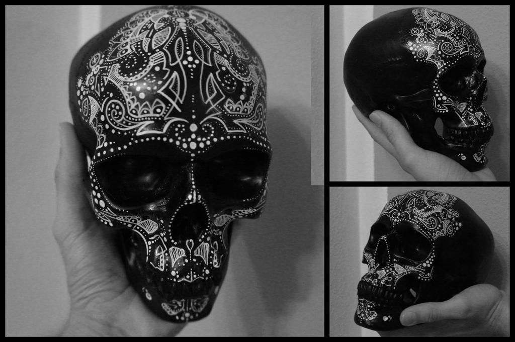 Ornamental Skull by red-lima