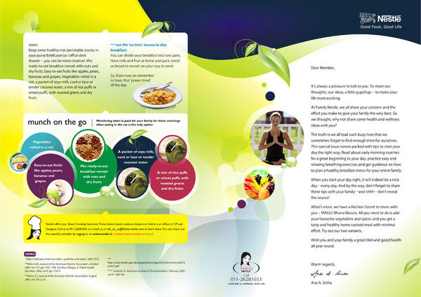 Nestle newsletter design by da kush on deviantart for Corporate newsletter design inspiration