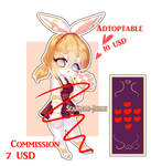 [Open commissions] [open adoptable, rabbit girl] by Scarleth-Chan