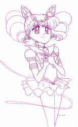 Eternal Sailor Chibimoon sketch