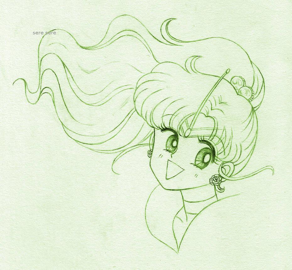 Jupiter sketch by seresere