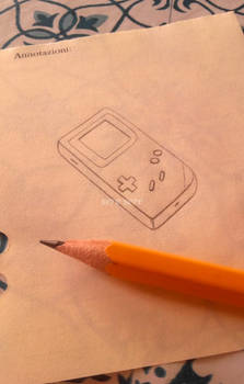 Game Boy little sketch