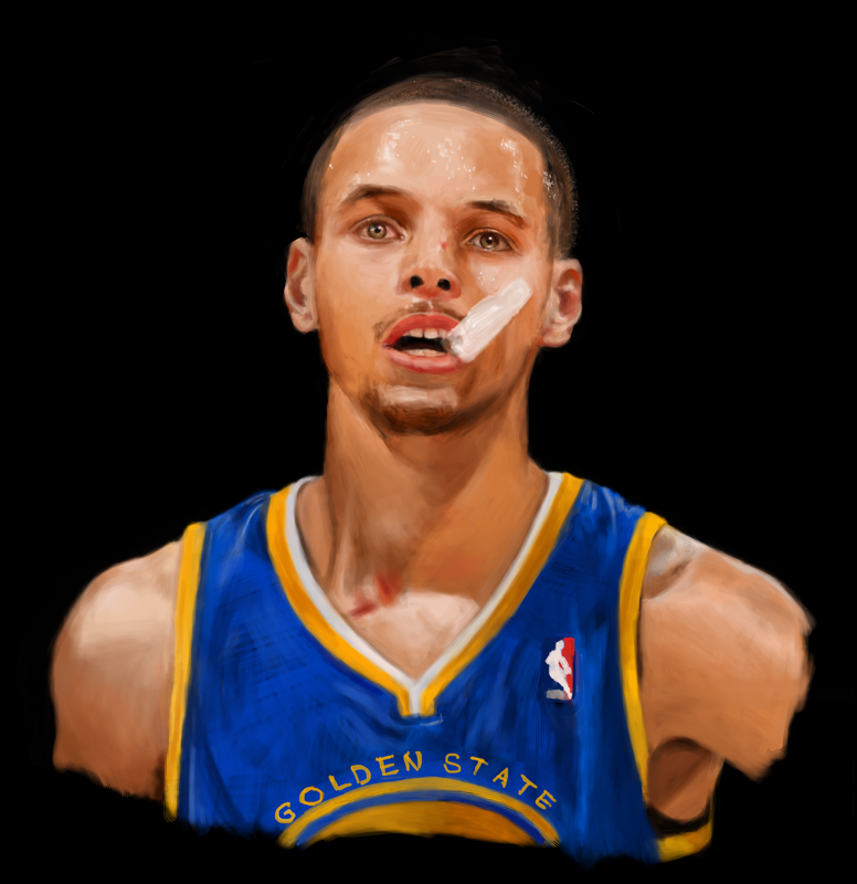 Steph Curry by billconan