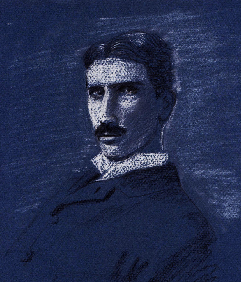 Nikola Tesla Wallpapers: Nikola Tesla By Bonzobonham On DeviantArt