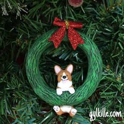 Corgi Wreath