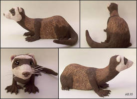 Ferret Sculpture