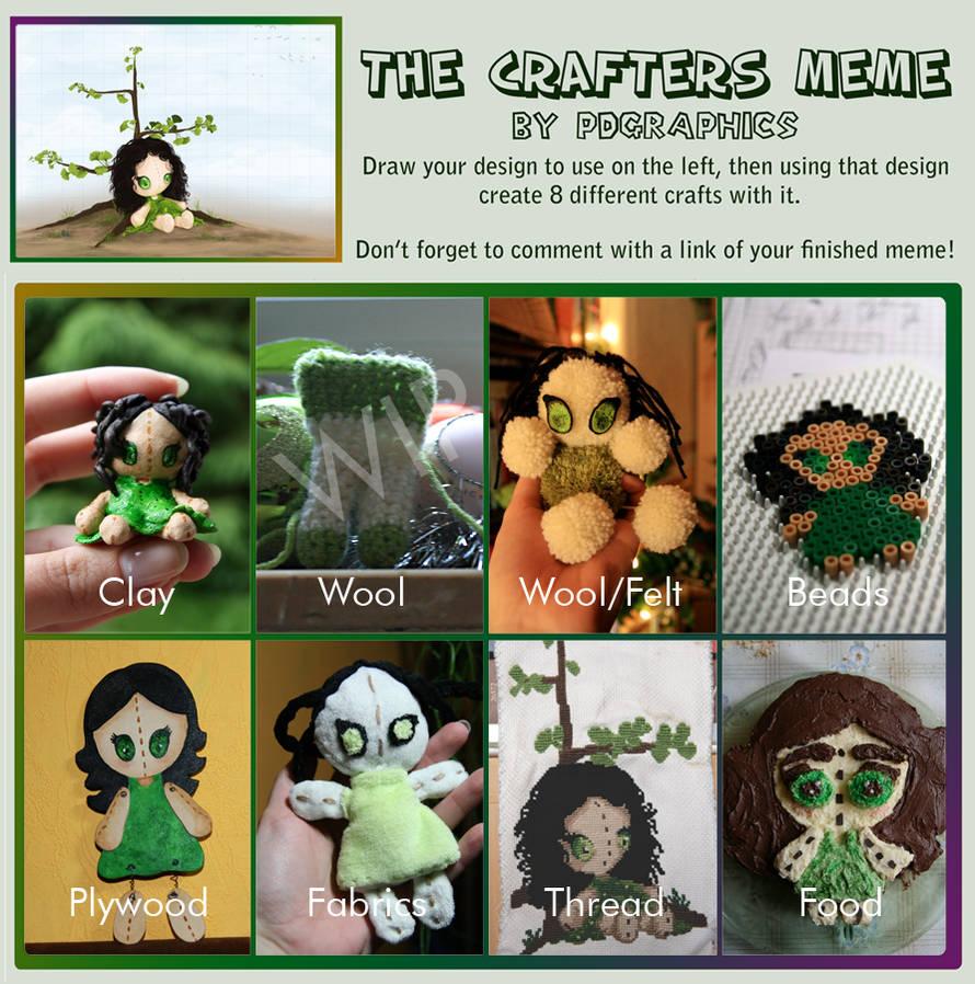 .:Crafters Meme by GinkgoWerkstatt