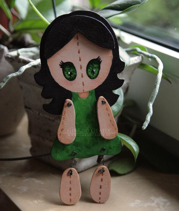 .:Wood Fairy by ginkgografix
