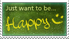 .:Happy Stamp by ginkgografix