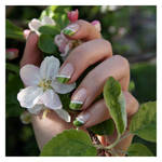 Nail Art: Green Spring