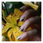 Nail Art: Red Square