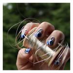Nail Art: Blue Wave