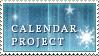 .:Calendar project stamp by ginkgografix