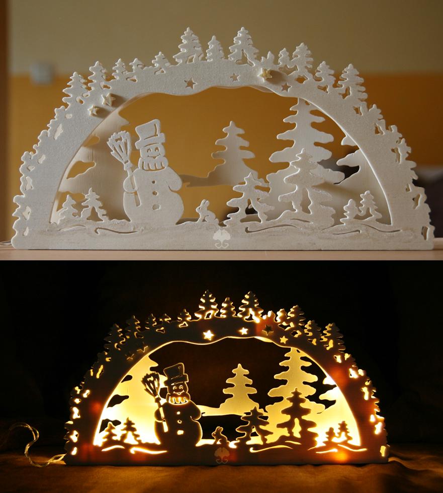 Schwibbogen II - Light arch by ginkgografix