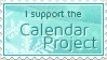 Calendar Project Stamp by ginkgografix