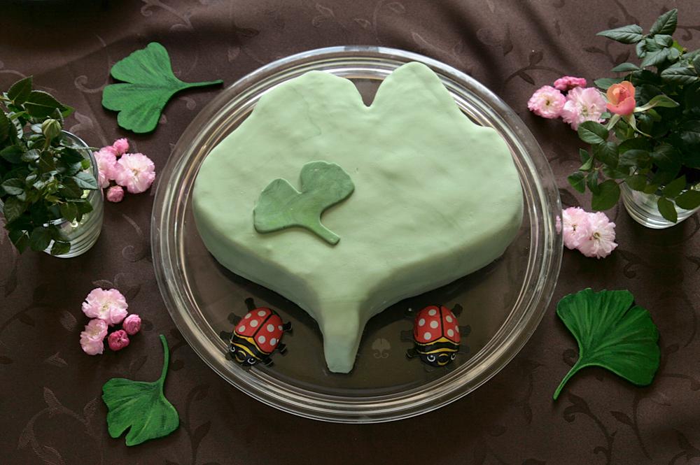 Ginkgo Cake by ginkgografix