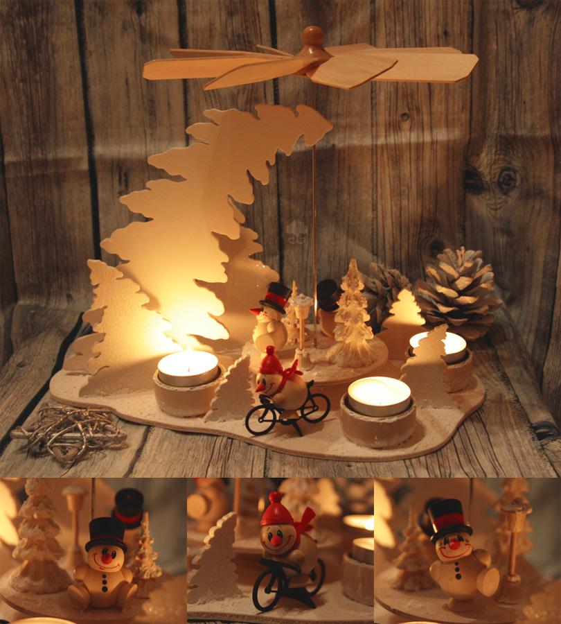 Christmas Pryramid by ginkgografix