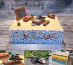 1. Day of School Cake by GinkgoWerkstatt