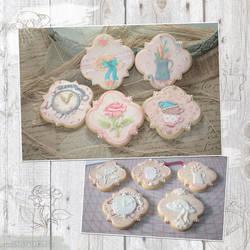 Cookies: Vintage Teaparty