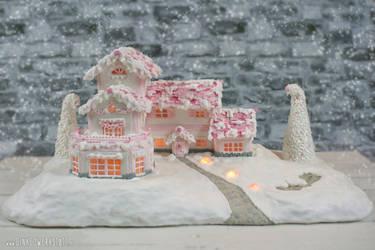 Pink Winterwonderland by GinkgoWerkstatt