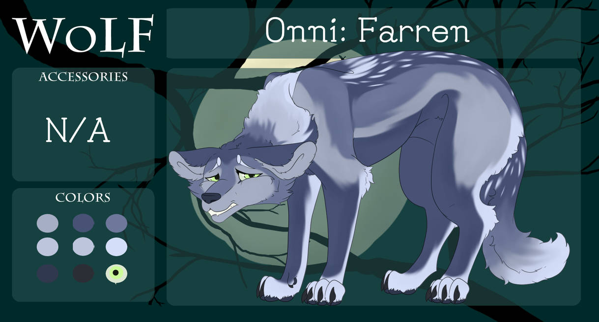 Farren Onni WoLF Application by Meow-Productions