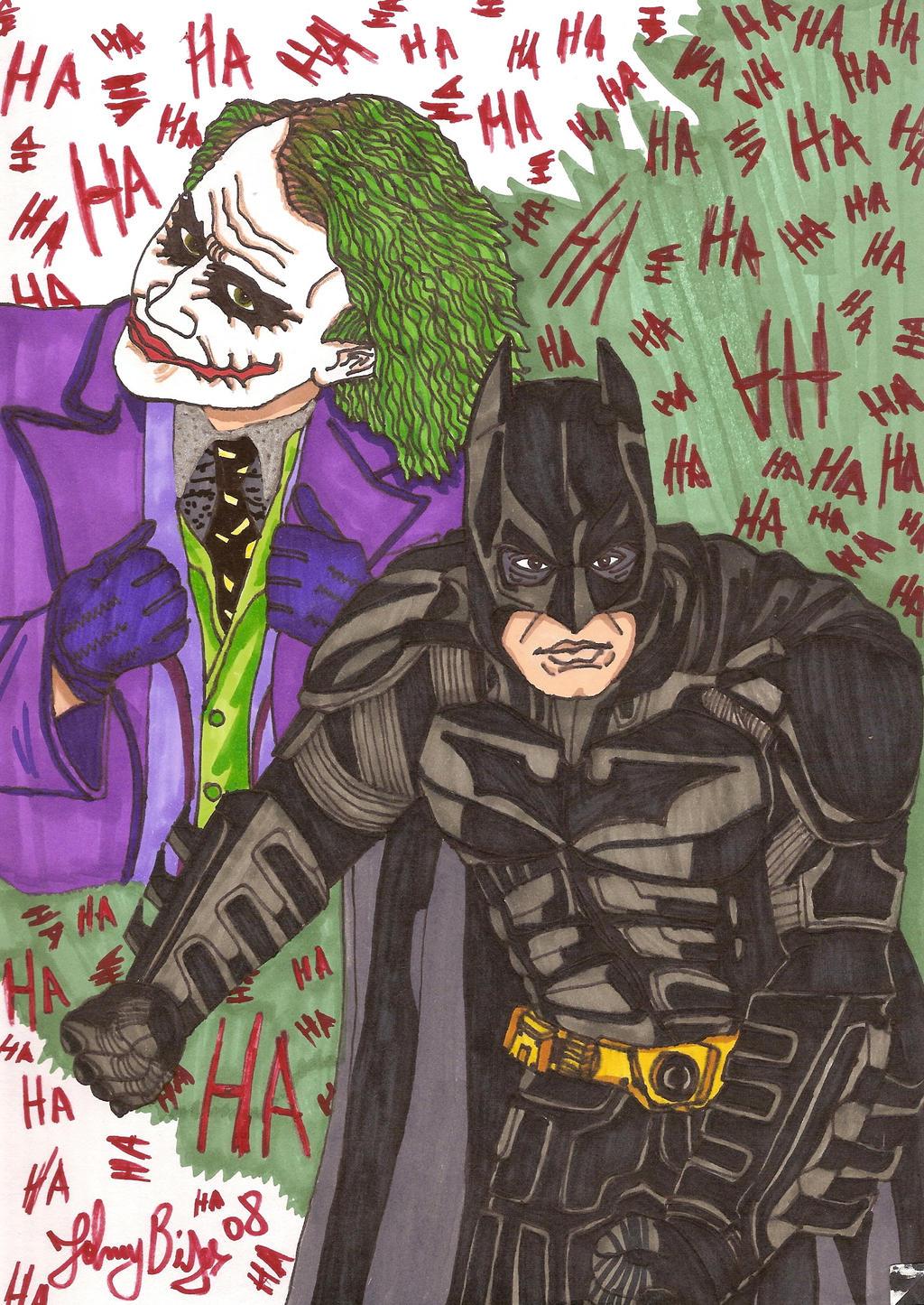 batman the dark knight by jpbijos