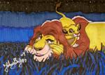 Mufasa and Simba moment