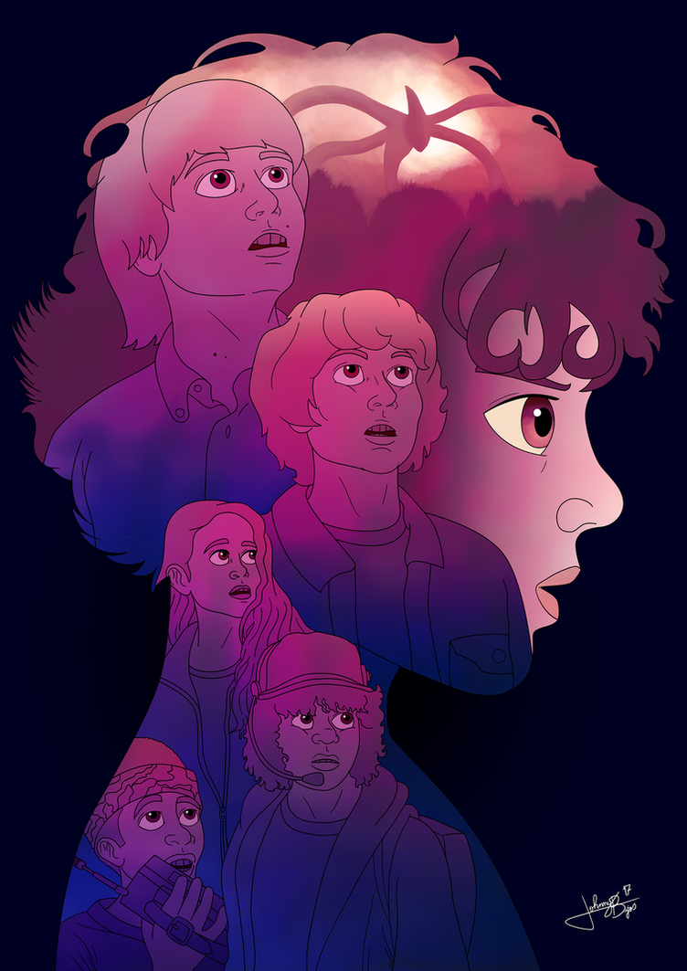 Stranger Things 2 by jpbijos