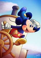 Mickey Mouse 90th by jpbijos