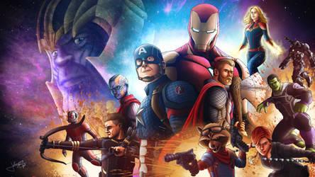 Avengers Endgame by jpbijos