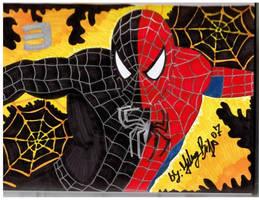both sides of spider-man by jpbijos