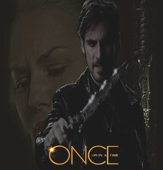 Once upon a Time  (Emma and Hook) by Art-Master-1983