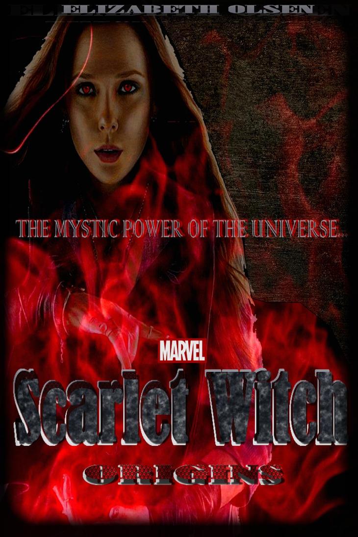 Marvel's Scarlet Witch Origins Poster by Art-Master-1983