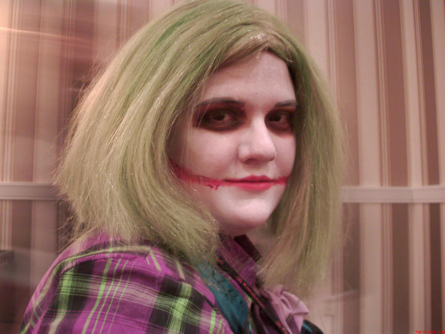 Female Joker Makeup by Jazeria on DeviantArt