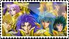 S.Seiya - Gold Saints by Floriblue12