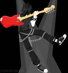 He's in Love With Rock 'N Roll by alkalinekurai