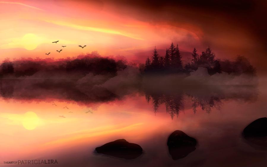 Sunset by LunaSombria