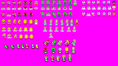 Super mario 2 d world map sprites by geno2925 on deviantart super mario 2 d world map sprites by geno2925 gumiabroncs Images