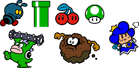 Coloured SM3DW World 4 Stamps by geno2925 on DeviantArt