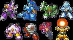 Mega Man 10 - RF CD Database Images