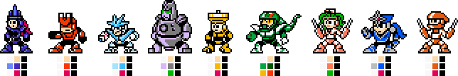 8-bit Mechanical Maniacs (TM1 Armour) by geno2925