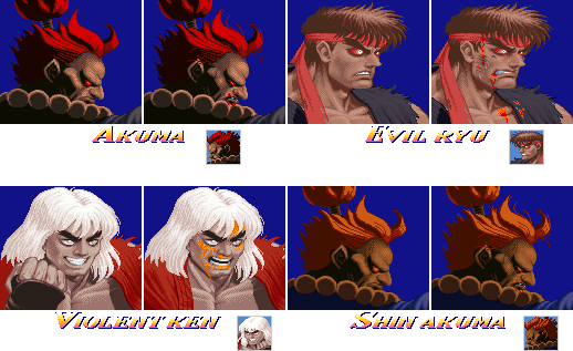 16 Bit Usf2 Character Select Graphics By Geno2925 On Deviantart